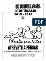 Filosofía 5° w.b. 2015 - 2015 pasta amarilla clara 99 pag