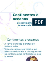 7B-Continentes e Oceanos
