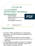 Grenoble Ecole de ManagementMEDFORIST WorkshopRosettaNet
