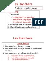 Cours Sur Les Planchers
