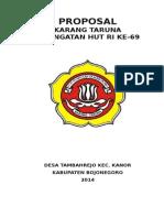 Proposal Peringatan Hut Ri Ke-69v