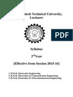 Btech-III Year electronics Engineering 170715