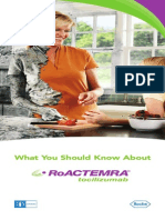 What You Should Know About Roactemra Safety Brochure