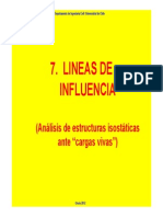 Lineas de Influencia-Primera Parte