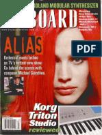Keyboard Magazine - July 2002