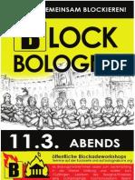 Blockade Workshop Infos Deutsch