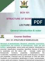 Lecture Ia  H2O