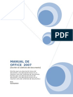 Manual de Office 2007