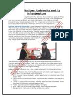 Jodhpur National University and Its Infrastructure
