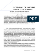 Vivencias Cotidianas de Parteiras e Experientes Do Tocantins Pinto