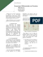 Aplicación de Ecuaciones Diferenciales en Circuitos Eléctricos