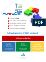 Parent Academy Full Catalog 2015 Final