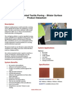Tactile Paving Blister Datasheet