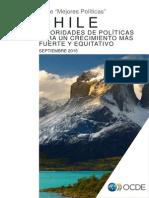 CHILE Prioridades de Políticas para un Crecimiento más Fuerte y equitativo.  Componente de I+D+i