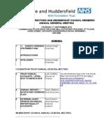 CHFT AGM Agenda  17.9.15