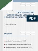 Una Evaluación Económica de Venezuela y Posibles Perspectivas de Efrain Velazquez