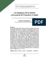 Badagnani, Adriana - Imágenes de La Muerte en La Poesía de Francisco Urondo