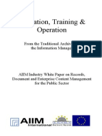 [EN] DLM Forum Industry Whitepaper 06 | Education, Training & Operation | TRW Systems Europe | Wolfgang Sommerer | Hamburg 2002