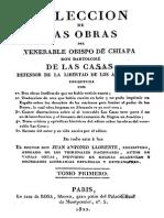 Coleccion de Obras-Tomo I-Bartolome de Las Casas