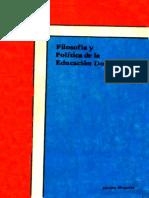 Jacobo Moquete - Filosofia y Politica de La Educacion Dominicana