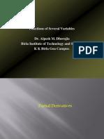 Partial Derivatives   bbb
