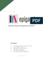 Epigami Exam Preparation Kit 2015