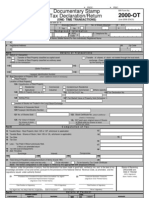 Documentary Stamp tax Form