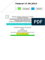 Diário Federal 17.09.2015