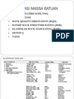 4c Klasifikasi Massa Batuan Rmr & q