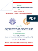 Brouchure International Conference 4-5 March 2015