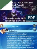 trasporte protocolos