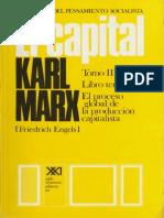Karl Marx, El Capital. Tomo III. El Proceso Global de La Producción Capitalista. Vol. 7