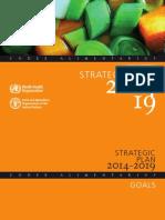 Strategic Plan 2014-2019 Codex