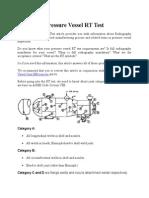 Pressure Vessel RT Test