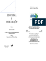 JAKOBSON, R. - Linguistica e Comunicação