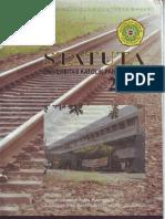 Statuta Universitas Katolik Parahyangan tahun 2005