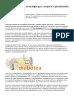 Diabetes alimentos un enfoque pr?ctico para la planificaci?n del men? diab?tico