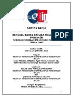 Bengkel Bahas Bahasa Melayu Ala Parlimen IPGKPI 2013