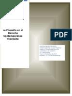 La Filosofía en el Derecho Contemporáneo Mexicano. Final.docx