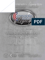 Sale Catalog - Cormdale Genetics Legacy Sale