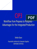CIP3 Presentation e 1999