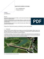 Puente Arco Sobre El Rio Deba