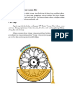 Prinsip Kerja Rotary Drum Vacuum Filter