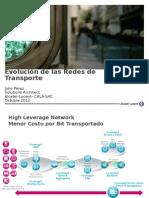 ALCATEL-JP SEM Tecnologia Evolucion Redes Transporte-JPerez-V02d