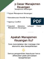 1 Konsep Dasar Manajemen Keuangan