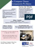 Centronia Computer Class Sept 26