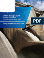 KPMG Union Budget Energy and Natural Resources PoV 2015