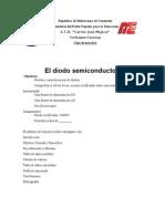 Practica del Diodo Semiconductor
