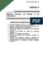 Balistica Forense-unidad II