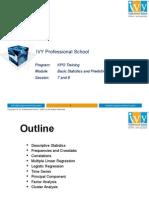 Module -4 (R Training) - Basic Stats & Modeling